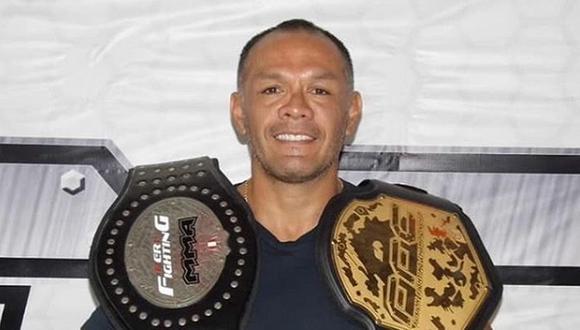 Jackson Mora, leyenda de las artes marciales mixtas (MMA) peruanas, está en ojo de la tormenta por sus salidas con Tilsa Lozano. (Foto: Instagram)
