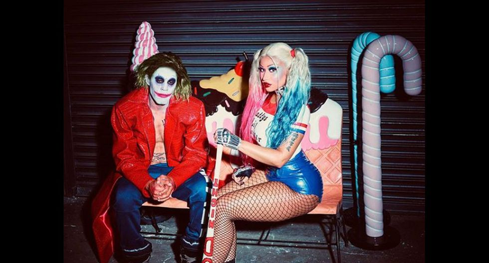 Adicional a esta sesión, Nicki Minaj y su esposo también se convirtieron en Harley Quinn y el Joker. (Foto: Instagram)