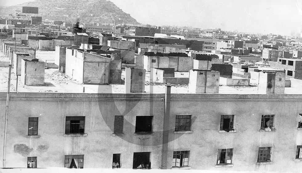 Cuando los techos de Lima se convirtieron en barriadas aéreas - 2