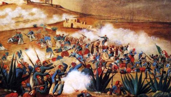 Este enfrentamiento es considerado como uno de las mayores victorias del ejército mexicano, al haber derrotado con fuerzas inferiores a uno de los ejércitos más importantes del mundo. (Foto: Getty Images)