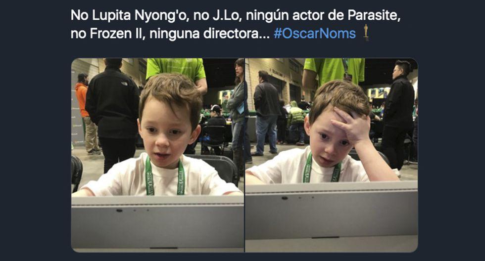 Los memes sobre la nominaciones a los Oscar 2020 no se hicieron esperar. (Facebook)