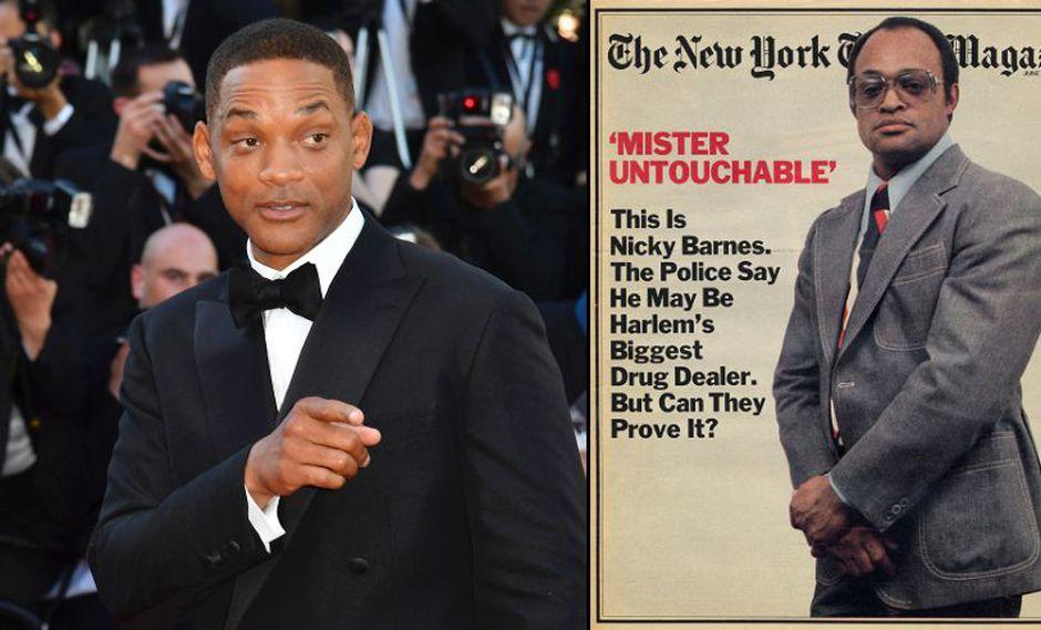 """Will Smith interpretará al narcotraficante Nicky Barnes en """"The Council"""". (Foto: AFP)"""