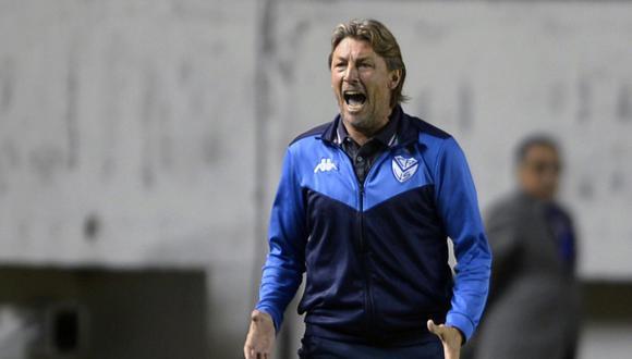 Gabriel Heinze dirigió a Vélez hasta marzo de esta año. (Foto: AFP)