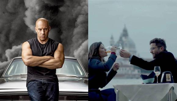"""""""Rápidos y Furiosos"""", """"Una vez en Venecia"""", entre otras películas forman parte de la cartelera. (Foto: Universal Pictures/Tondero)."""