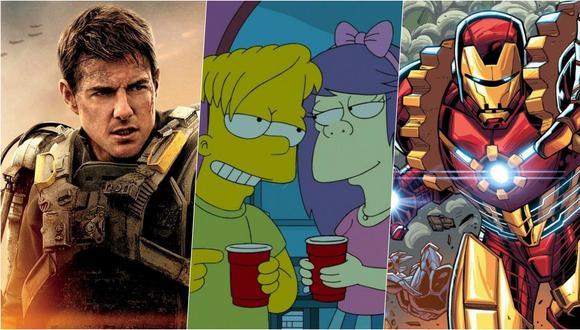 """Iron Man 2020, """"Al filo del mañana"""" y """"Los Simpson"""". Ficciones que recrearon sus propias versiones del 2020."""