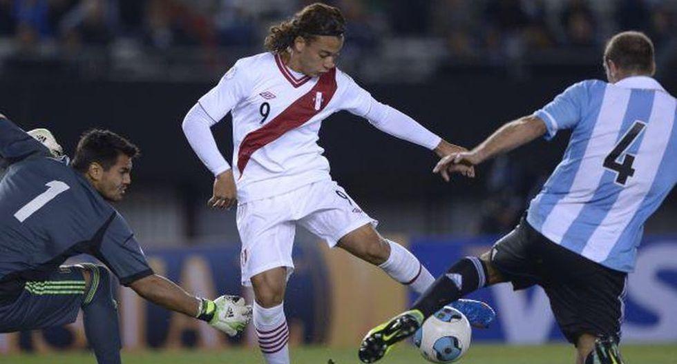 Eliminatorias Brasil 2014: Perú perdió 1-3 ante Argentina en el Monumental de Núñez. (Foto: Agencias)