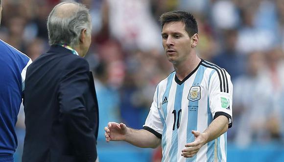 La revelación sobre Lionel Messi en el Mundial Brasil 2014. (Foto: EFE)