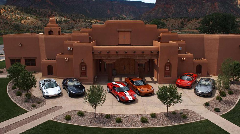 El principal atractivo de esta mansión es la colección de autos del 'Gateway Auto Museum'. Sin embargo, la compra también incluye algunos superdeportivos modernos. (Fotos: Sotheby's International Realy).