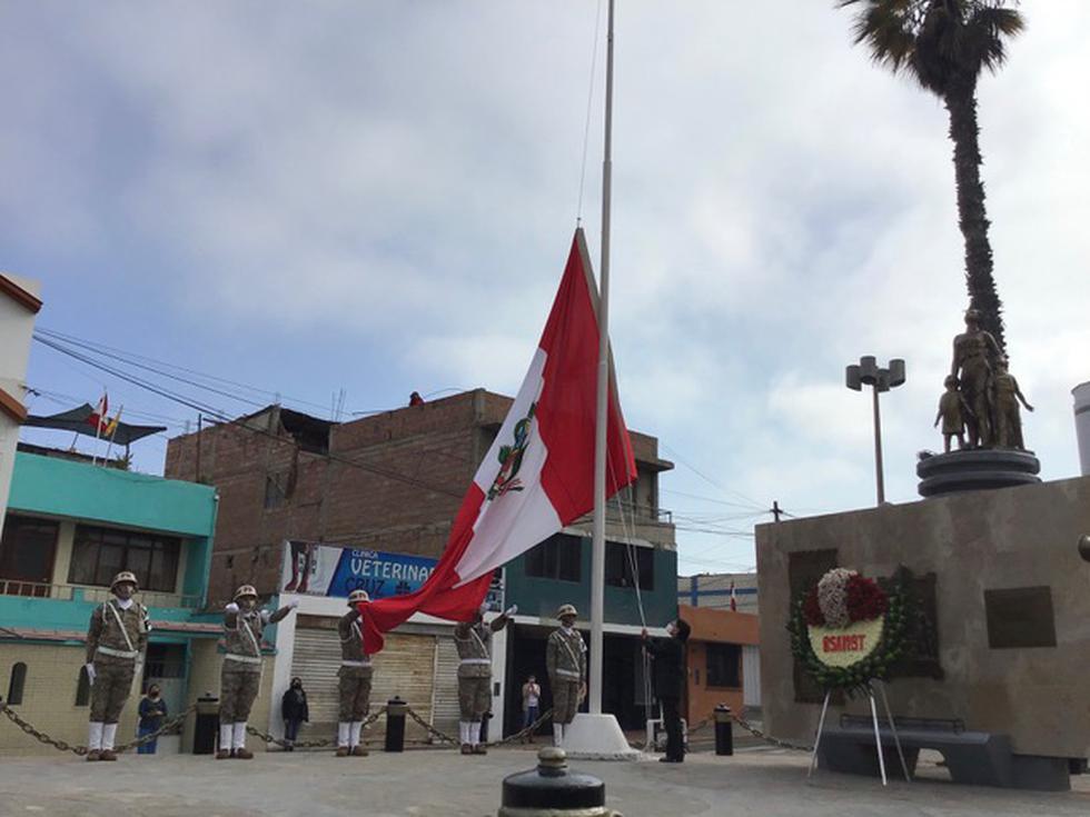 Tacna celebra 91 años de retorno al Perú sin tradicional Procesión de la Bandera debido a pandemia del COVID-19. (Foto: Ernesto Suárez)