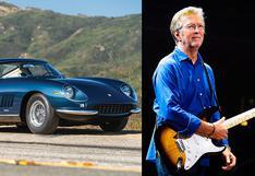 Eric Clapton, el guitarrista con la colección de autos Ferrari más impresionante del mundo   FOTOS