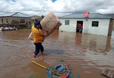 Puno: declaran estado de emergencia por 60 días ante riesgo por lluvias