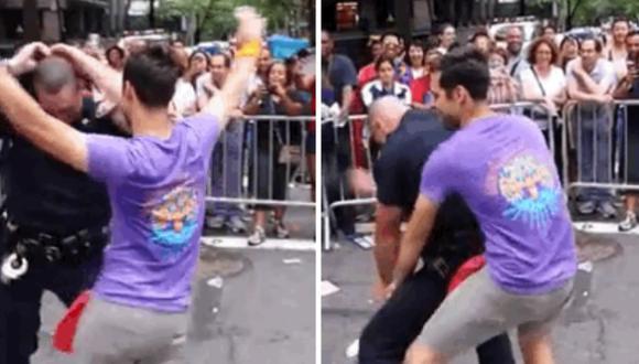 Policía se sumó a fiesta del Orgullo Gay en Nueva York [VIDEO]