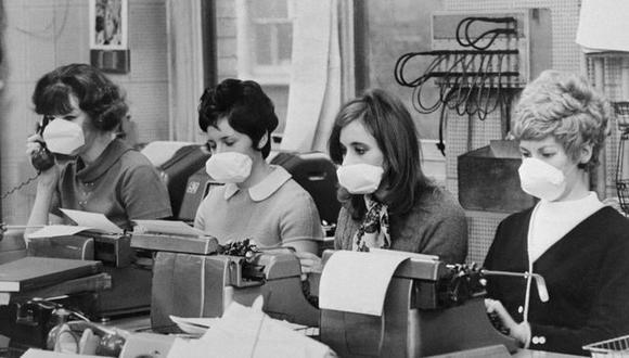 La epidemia de gripe de Hong Kong golpeó Europa con fuerza, pero la gente sana no dejó de ir a trabajar. (Foto: Getty)