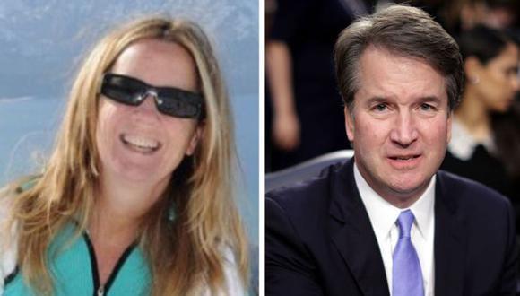 Christine Blasey Ford dice que Brett Kavanaugh la atacó sexualmente cuando era una adolescente.