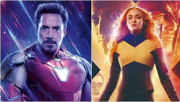 De izquierda a derecha Iron Man y Jean Grey; personajes representativos de Disney y Fox que desde el 2019 pertenecen a la misma compañía. Foto: Disney.