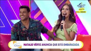 Natalie Vértiz y Yaco Eskenazi anuncian estar esperando su segundo hijo