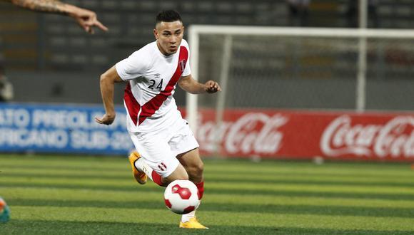 Jean Deza fue convocado a la selección peruana por primera vez en 2014. (Foto: GEC)