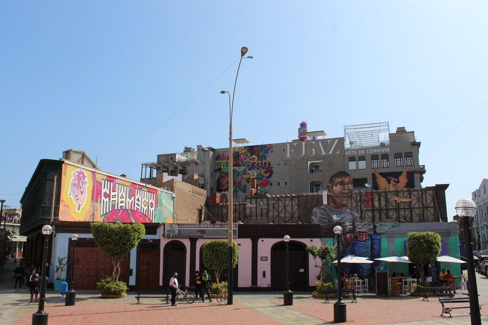 Ubicado en las primeras cuadras del jirón constitución, Monumental Callao es un lugar que combina lo mejor de la cultura y el arte urbano. En la imagen, la Plaza Matriz. (Foto: Facebook/Monumental Callao)