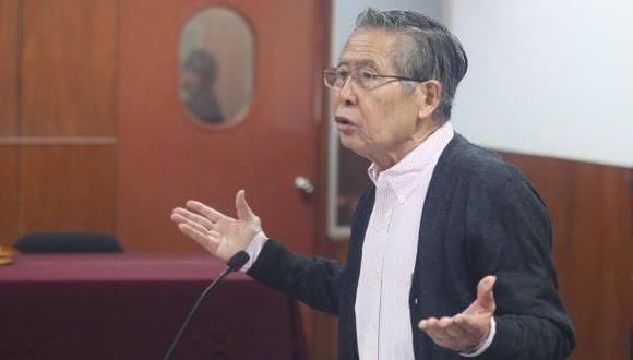 La Corte Superior de Justicia de Lima confirmó en segunda instancia que el habeas corpus presentado por los hijos de Fujimori para sacarlo de prisión es infundado. (Foto: Alonso Chero / Archivo El Comercio)