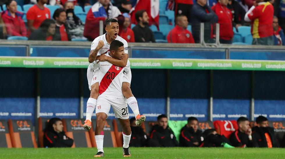Perú vs. Chile. (Foto: AFP)