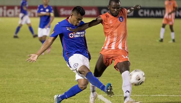 Cruz Azul y Arcahaie empataron sin goles en la ida. (Foto: EFE)