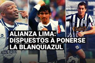 Alianza Lima: los exjugadores que se ofrecieron ponerse la blanquiazul en la Liga 2