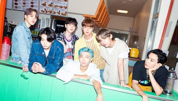 BTS está conformado por los cinco cantantes V, Suga, Jungkook, Jin, RM, Jimin y J-Hope (Foto: IMDB)