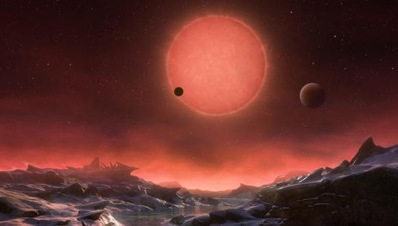 NASA: nueve exoplanetas podrían albergar agua