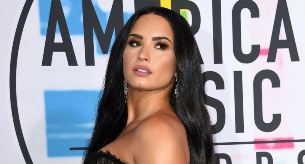 Demi Lovato no tenía una gran actuación desde 2018, cuando tuvo una sobredosis. (AFP)