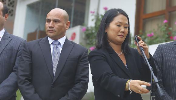 La ex candidata presidencial Keiko Fujimori también es investigada por el Caso Joaquín Ramírez.  (Foto: Archivo El Comercio)