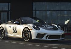 Porsche 911 Speedster especial será subastado para luchar contra el coronavirus   FOTOS
