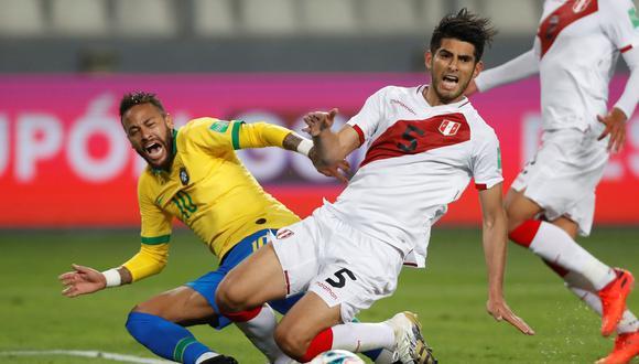Brasil venció por 4-2 a Perú por la fechas 2 de las Eliminatorias rumbo a Qatar 2022. (EFE)