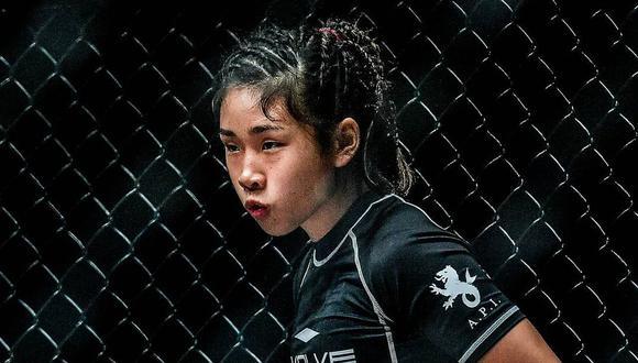 La joven luchadora Victoria Lee, de 16 años, tuvo el debut soñado al consagrar su primer triunfo en la escena profesional de artes marciales mixtas. (Foto: victorialee.mma / Instagram)