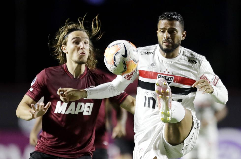 Sao Paulo - Lanús - Copa Sudamericana. (Foto: AFP)
