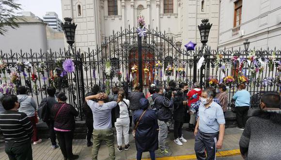El presidente Martín Vizcarra detalló que se mantienen conversaciones con los representantes de la Iglesia. (Foto: GEC)