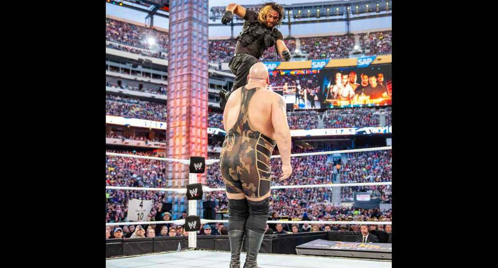The Shield se llevó la victoria contra el equipo formado por Randy Orton, The Big Show y Sheamus. (Foto: WWE)