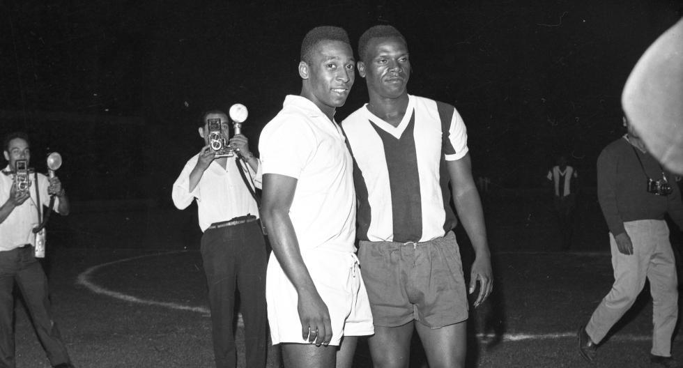 Amistoso entre Santos y Alianza en 1966. (Foto: Archivo Histórico El Comercio)