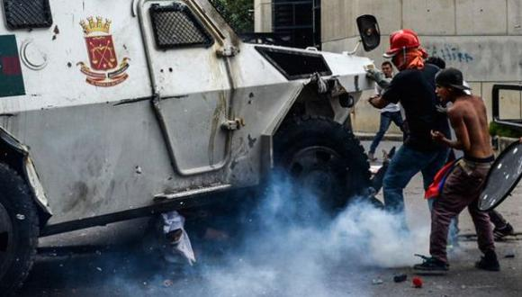 [BBC] Las escenas más intensas en las marchas contra Maduro