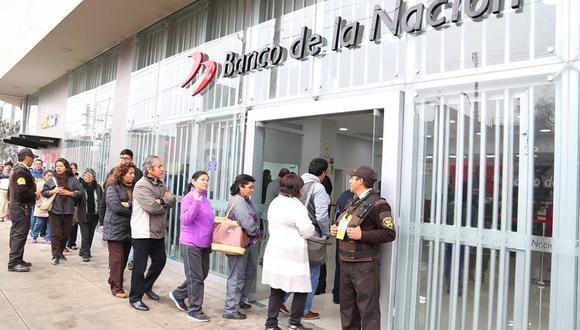 Solo se atenderán a través de cajeros automáticos ante la alerta informática. (Foto: Facebook - Banco de la Nación)