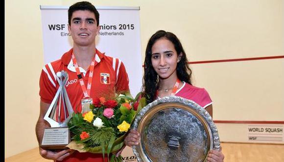 Diego Elías conquistó bicampeonato mundial juvenil de squash