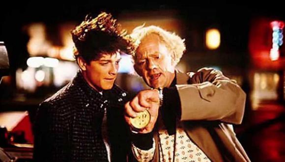 """Eric Stoltz en el rodaje de """"Volver al Futuro"""" antes de ser reemplazado por Michael J. Fox. (Foto: archivo)"""