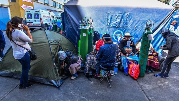 el Consejo Regional V Arequipa del CMP expresó su rechazo contra las autoridades políticas y de salud del gobierno regional por el supuesto mal manejo que se estaría dando en la región ante la crisis sanitaria por el coronavirus. (Foto: Diego Ramos/GEC)