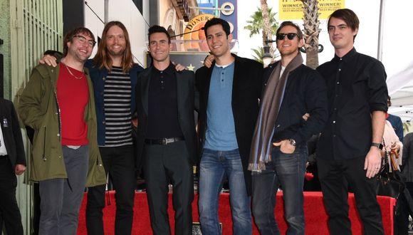 Bajista de Maroon 5 es detenido por violencia doméstica. (Foto: AFP)