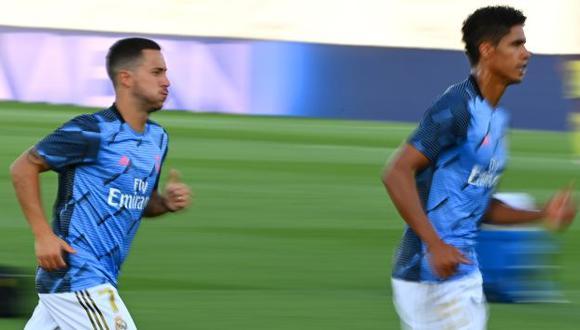 Eden Hazard llegará muy motivado al duelo ante Inter de Milán tras su gol a Huesca. (Foto: AFP)