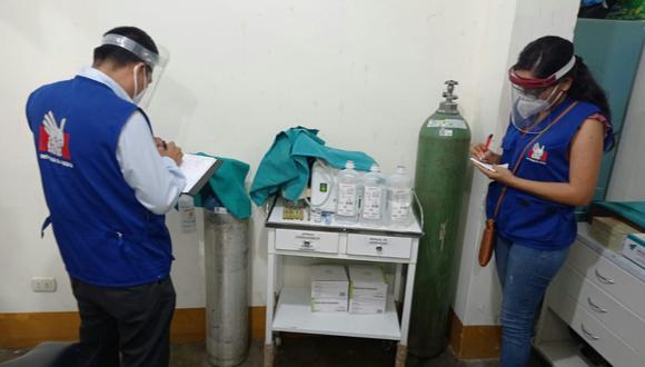 Cajamarca: Defensoría pide que centro de salud de Jaén retire medicinas vencidas (Foto: Defensoría del Pueblo)