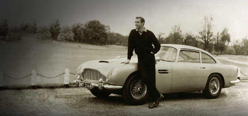 Goldfinger - Aston Martin DB5. (Foto: Aston Martin)