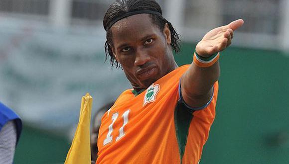 Costa de Marfil: Drogba lidera lista de convocados para Mundial