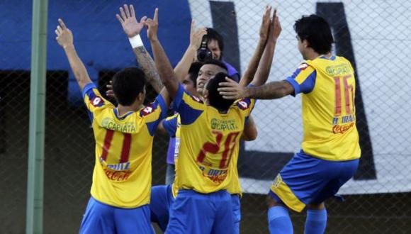 Deportivo Capiatá derrotó 3-1 a Danubio por la Sudamericana