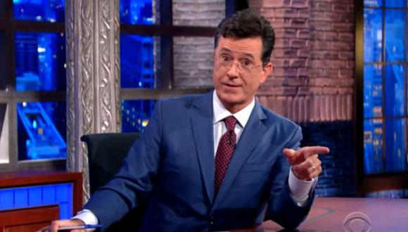 Stephen Colbert debutó en reemplazo de David Letterman