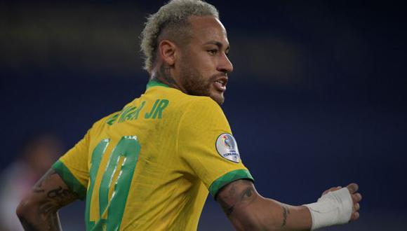 Neymar tiene dos goles en la presente edición de la Copa América. (Foto: AFP)
